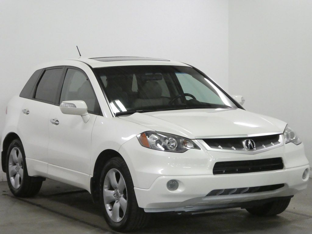 2007 Acura Rdx In Middletown Oh At Cincinnati Automotive Group Inc White 5j8tb18247a023385