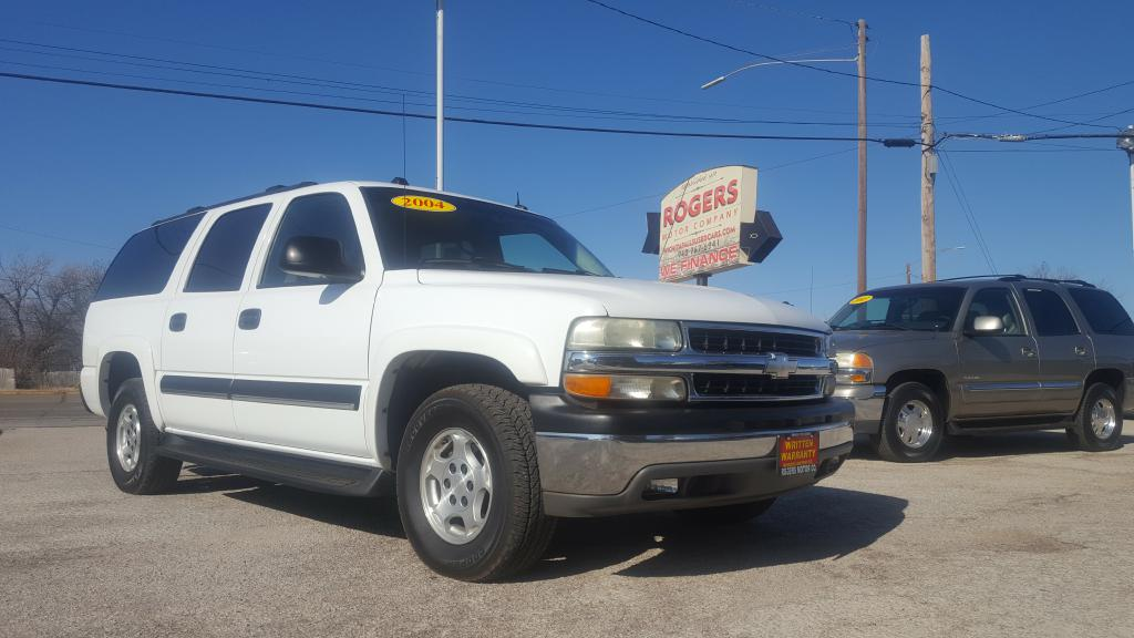 2004 CHEVROLET SUBURBAN  Rogers Motor Company Wichita Falls TX