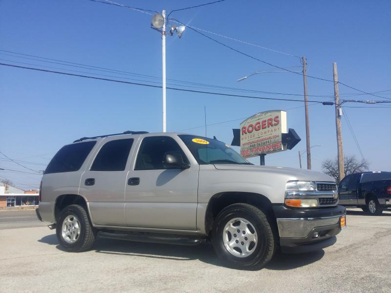2006 CHEVROLET TAHOE  Rogers Motor Company Wichita Falls TX