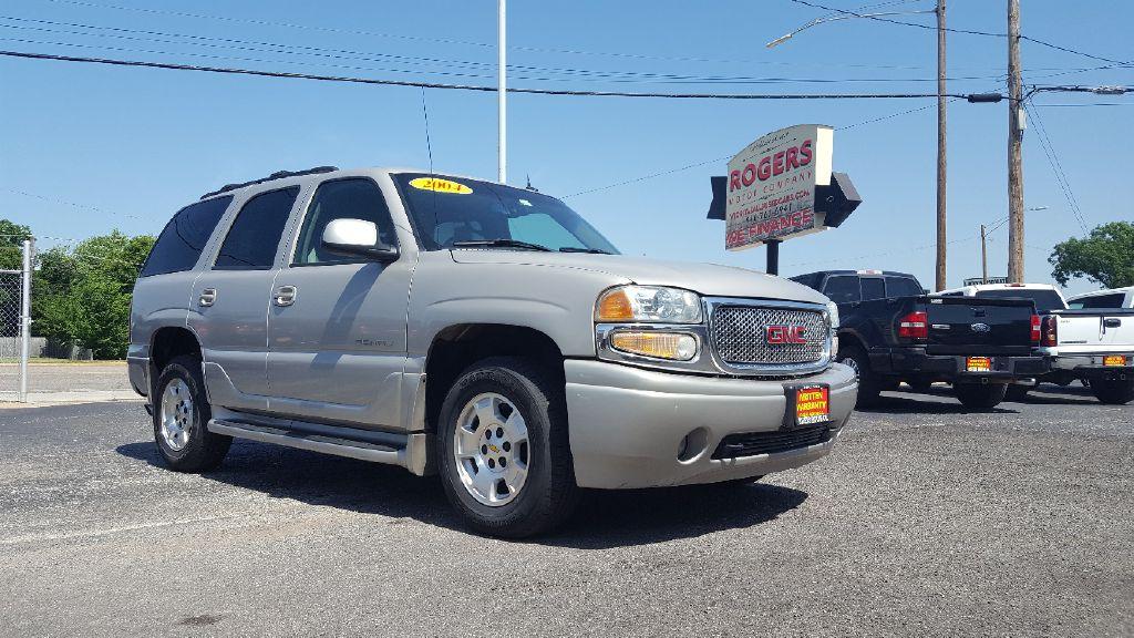 2004 GMC YUKON  Rogers Motor Company Wichita Falls TX