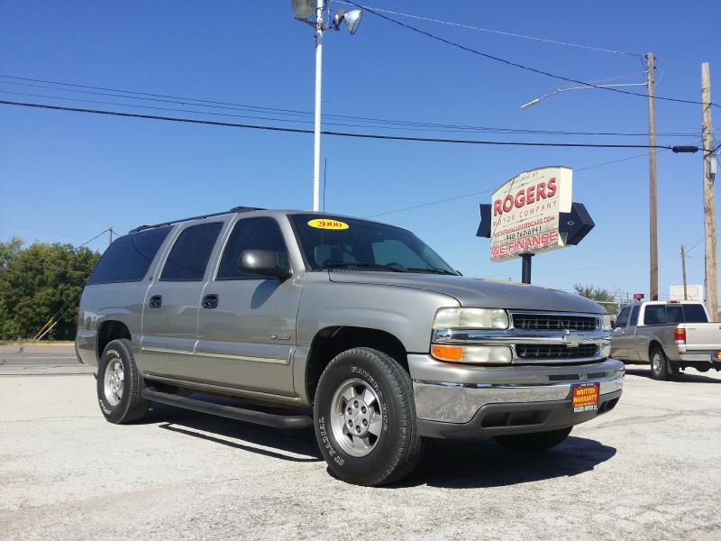 2000 CHEVROLET SUBURBAN  Rogers Motor Company Wichita Falls TX