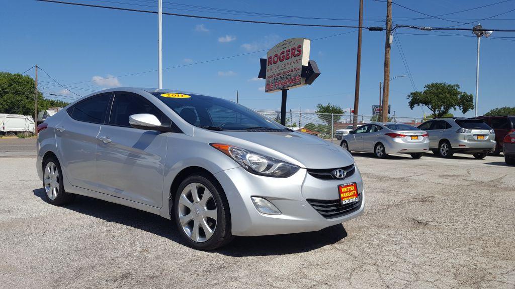 2011 HYUNDAI ELANTRA  Rogers Motor Company Wichita Falls TX
