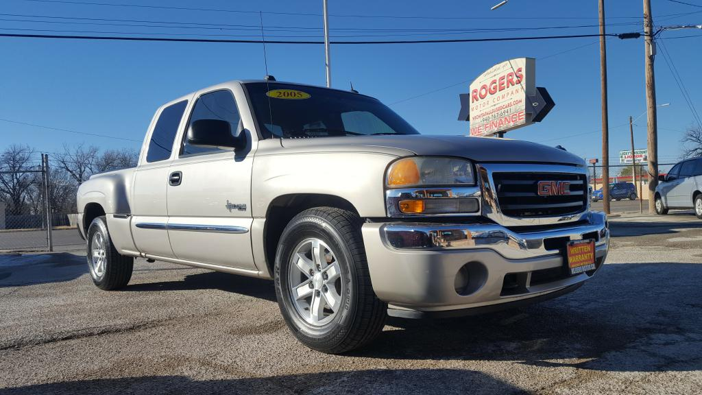 2005 GMC NEW SIERRA 1GTEC19T25Z139954 ROGERS MOTOR CO.
