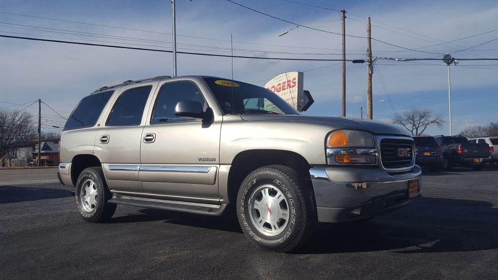 2001 GMC YUKON  Rogers Motor Company Wichita Falls TX