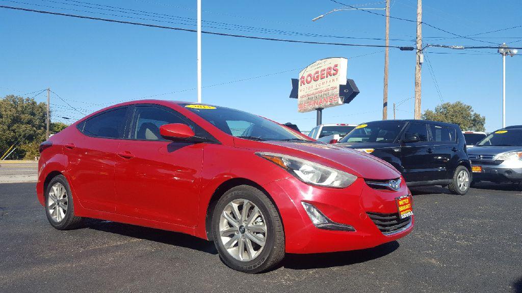 2014 HYUNDAI ELANTRA  Rogers Motor Company Wichita Falls TX