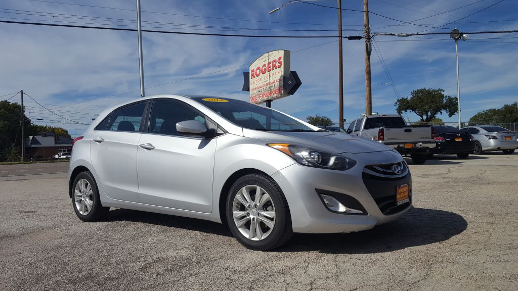 2014 HYUNDAI ELANTRA GT  Rogers Motor Company Wichita Falls TX
