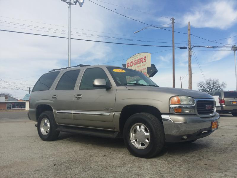 2003 GMC YUKON  Rogers Motor Company Wichita Falls TX