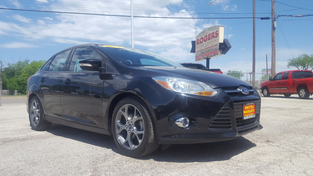 2014 FORD FOCUS  Rogers Motor Company Wichita Falls TX