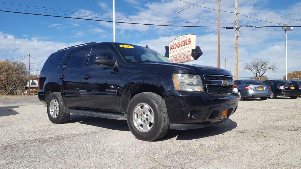 2007 CHEVROLET TAHOE  Rogers Motor Company Wichita Falls TX