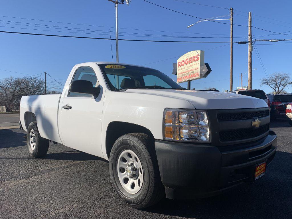 2013 CHEVROLET SILVERADO 1500  Rogers Motor Company Wichita Falls TX