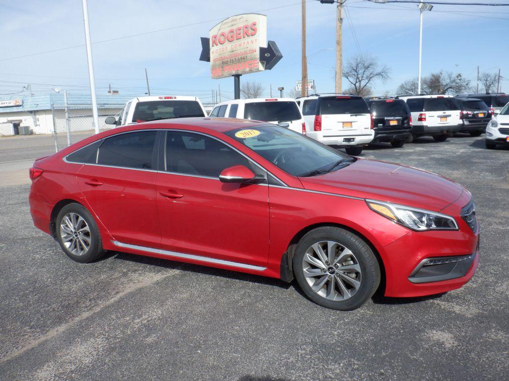 2017 HYUNDAI SONATA  Rogers Motor Company Wichita Falls TX