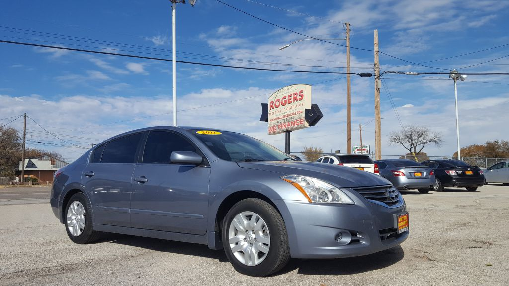 2011 NISSAN ALTIMA  Rogers Motor Company Wichita Falls TX