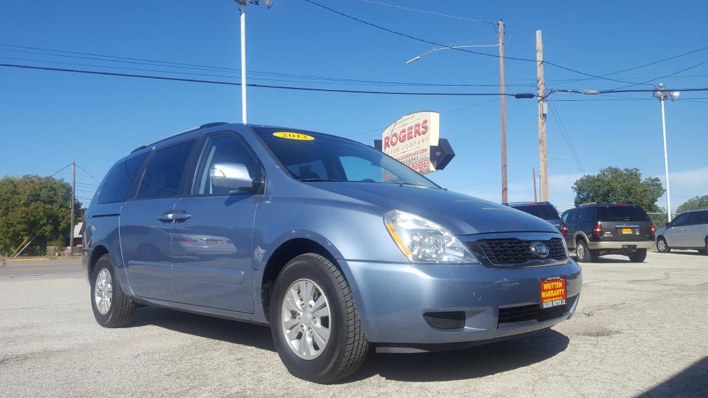 2012 KIA SEDONA  Rogers Motor Company Wichita Falls TX