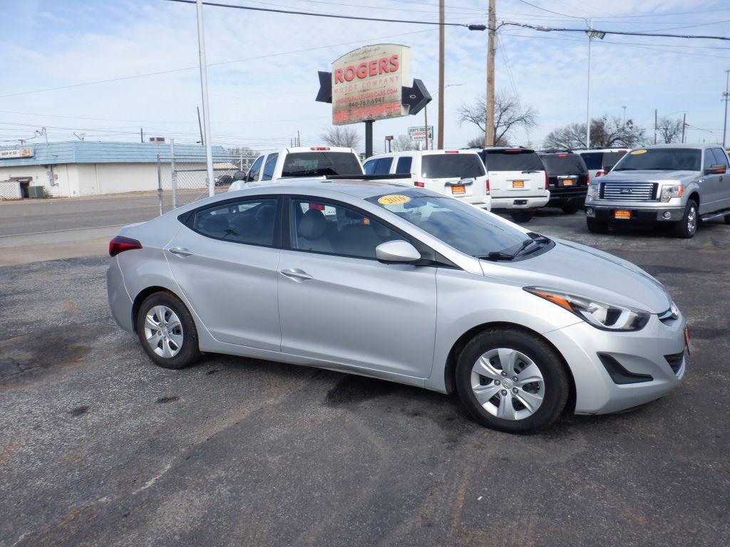 2016 HYUNDAI ELANTRA  Rogers Motor Company Wichita Falls TX
