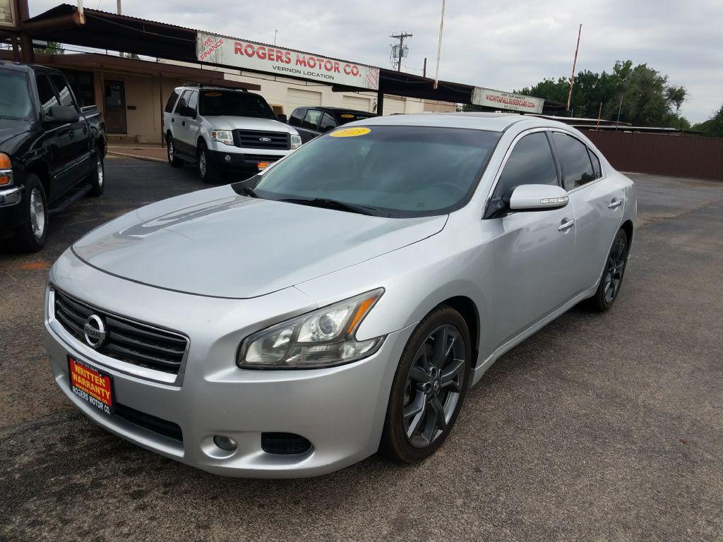 2013 NISSAN MAXIMA  Rogers Motor Company Wichita Falls TX