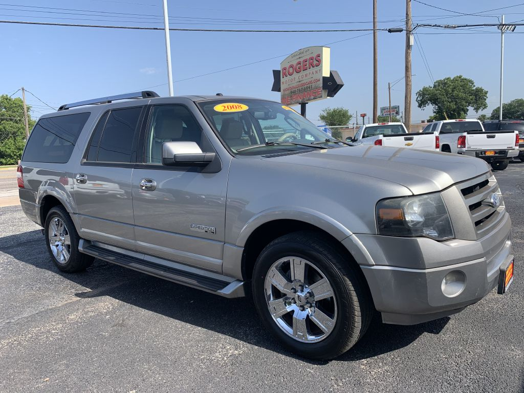 2008 FORD EXPEDITION  Rogers Motor Company Wichita Falls TX