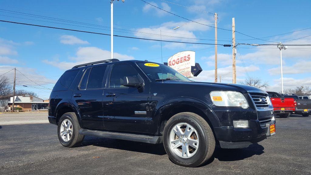 2008 FORD EXPLORER  Rogers Motor Company Wichita Falls TX