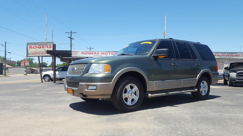 2004 FORD EXPEDITION  Rogers Motor Company Wichita Falls TX