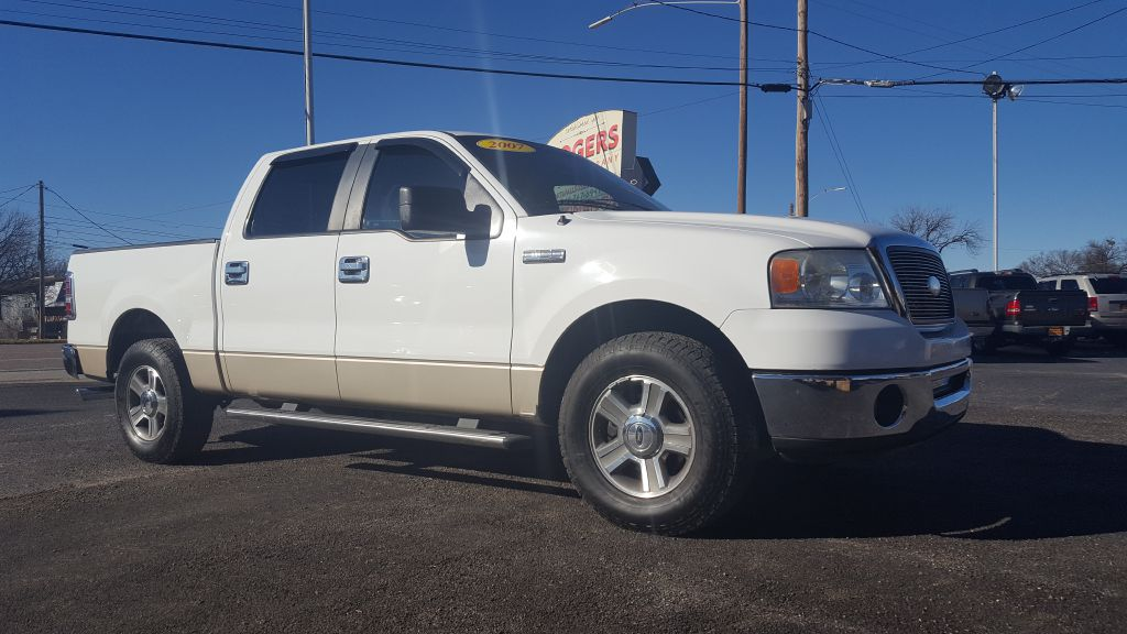 2007 FORD F150  Rogers Motor Company Wichita Falls TX