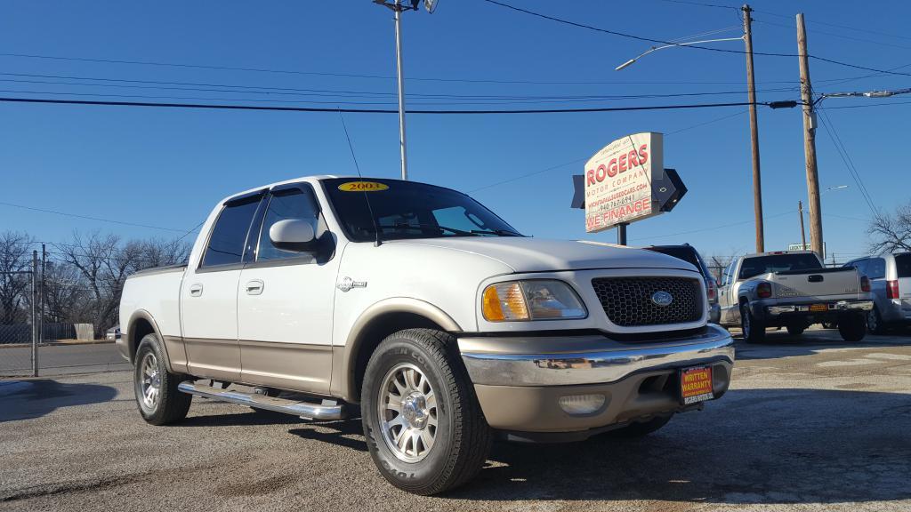 2003 FORD F150  Rogers Motor Company Wichita Falls TX