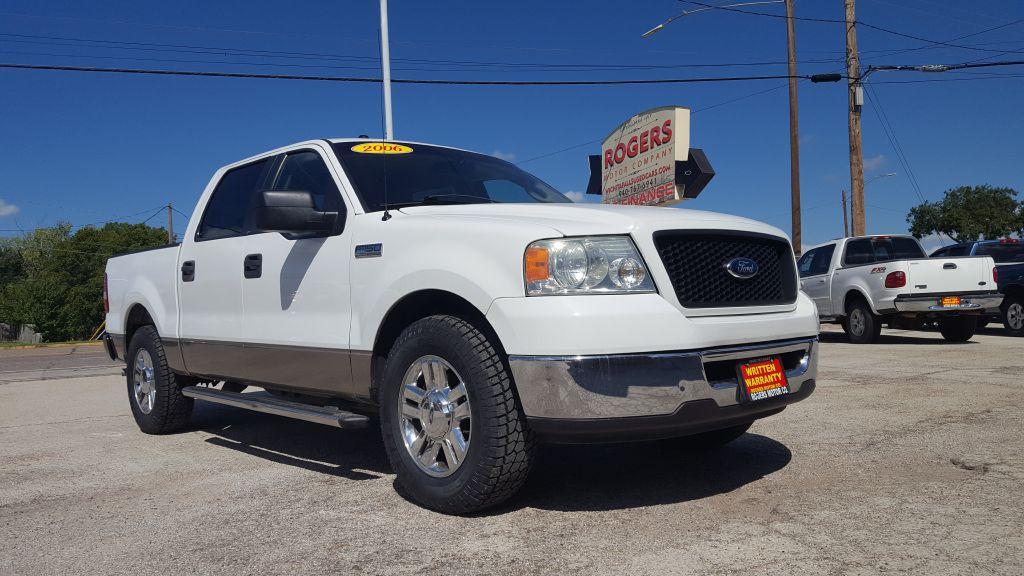 2006 FORD F150  Rogers Motor Company Wichita Falls TX
