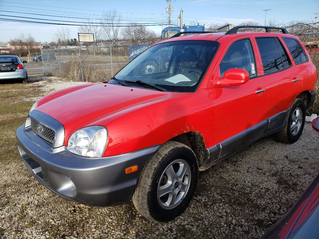 2003 HYUNDAI SANTA FE GLS for sale at Elite Auto and Truck Sales