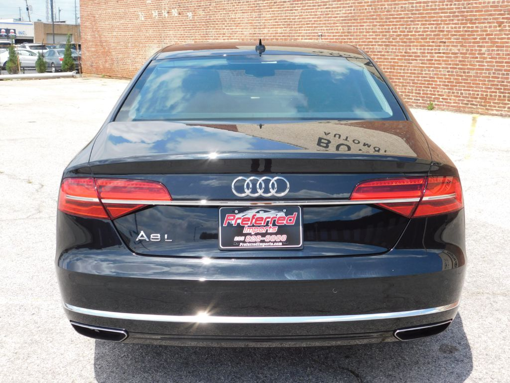2015 audi a8 l quattro awd msrp 81 400 preferred imports. Black Bedroom Furniture Sets. Home Design Ideas
