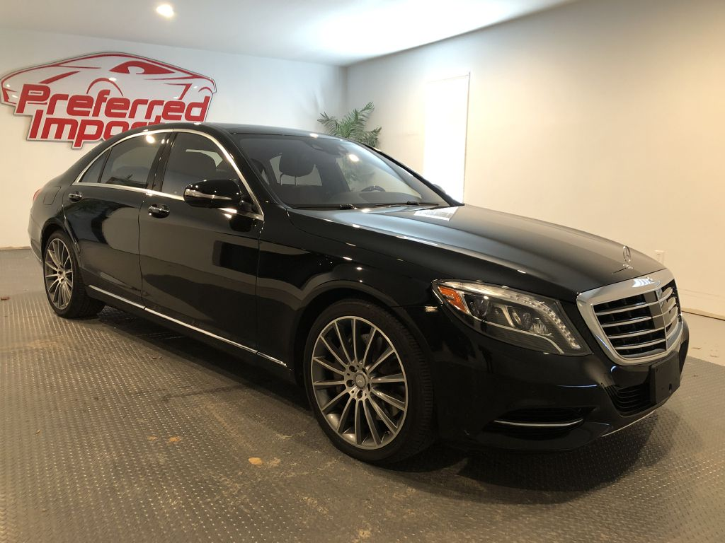 2015 MERCEDES-BENZ S550 RWD MSRP $94,500