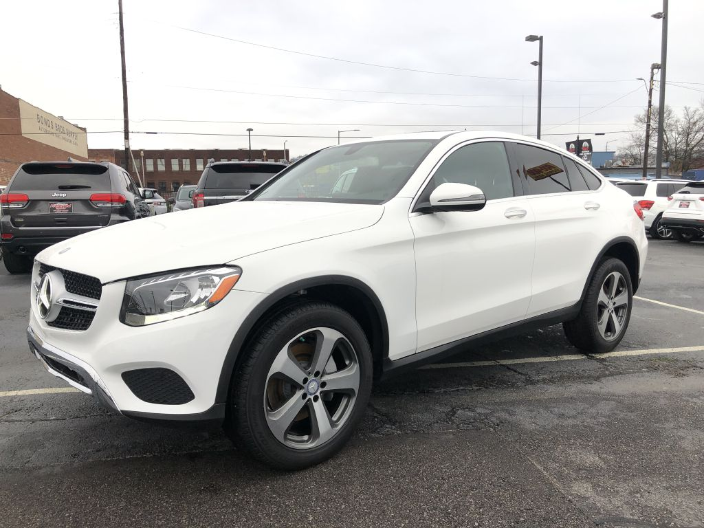 2017 MERCEDES-BENZ GLC300  COUPE 4MATIC