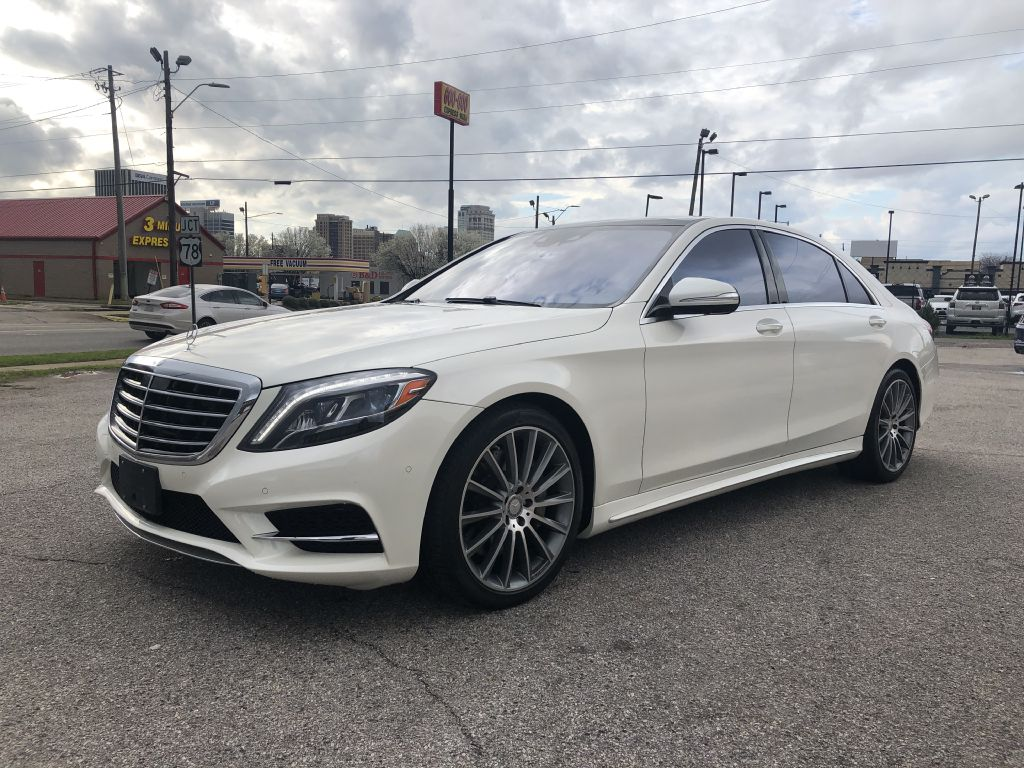 2015 MERCEDES-BENZ S550 RWD MSRP $112,510