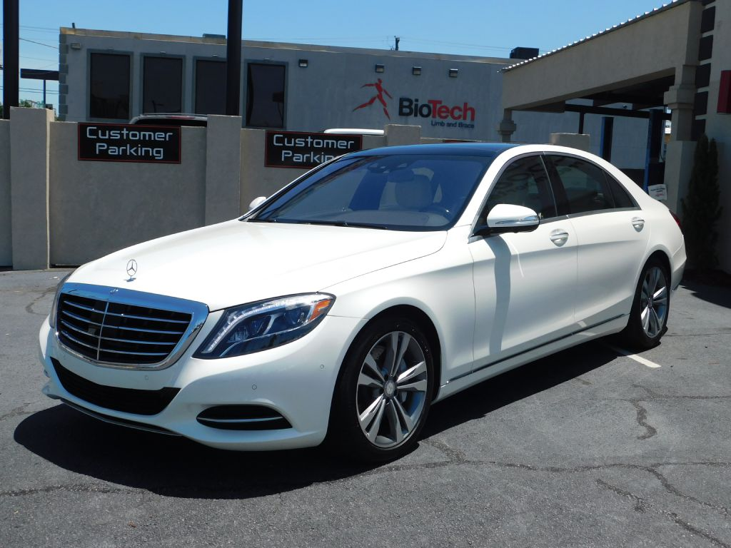 2016 MERCEDES-BENZ S550 RWD MSRP $95,650