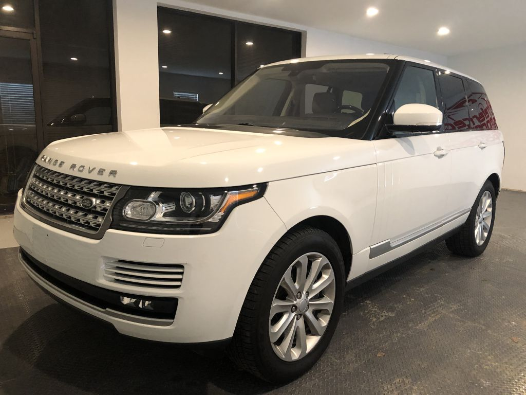 2016 LAND ROVER RANGE ROVER HSE AWD MSRP $91,950