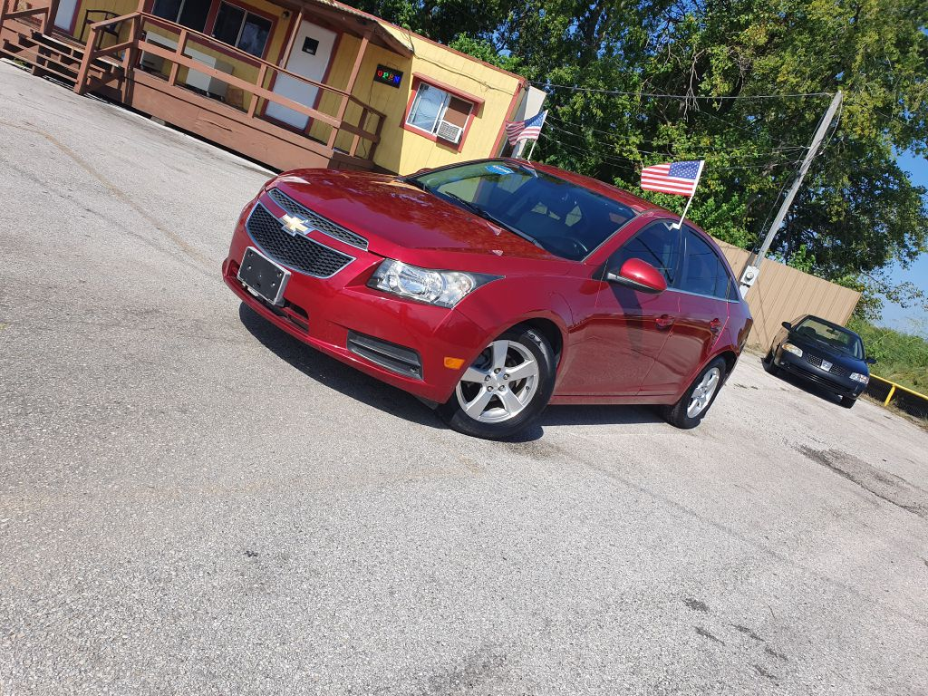 2013 CHEVROLET CRUZE 1G1PC5SBXD7237988 CAR SOLUTIONS
