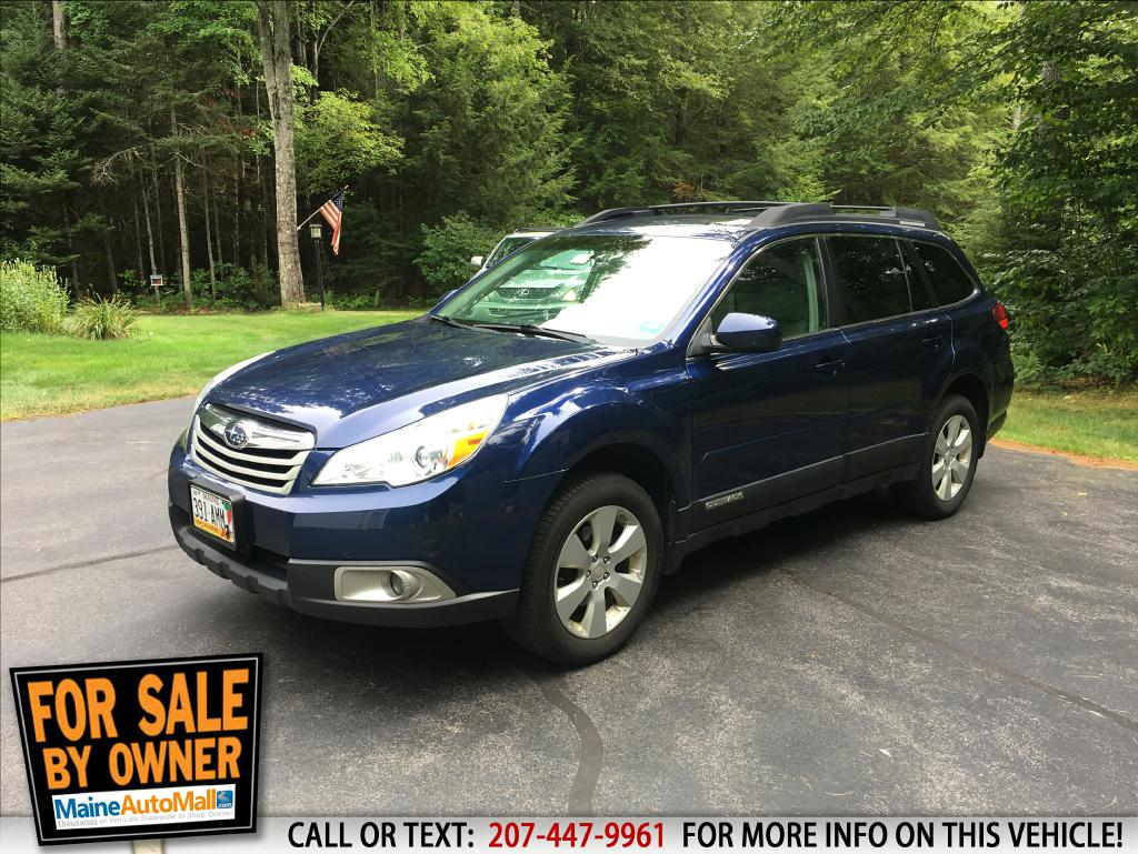 Your Used 2011 SUBARU OUTBACK for Sale in Topsham ME - BLUE SUBARU ...