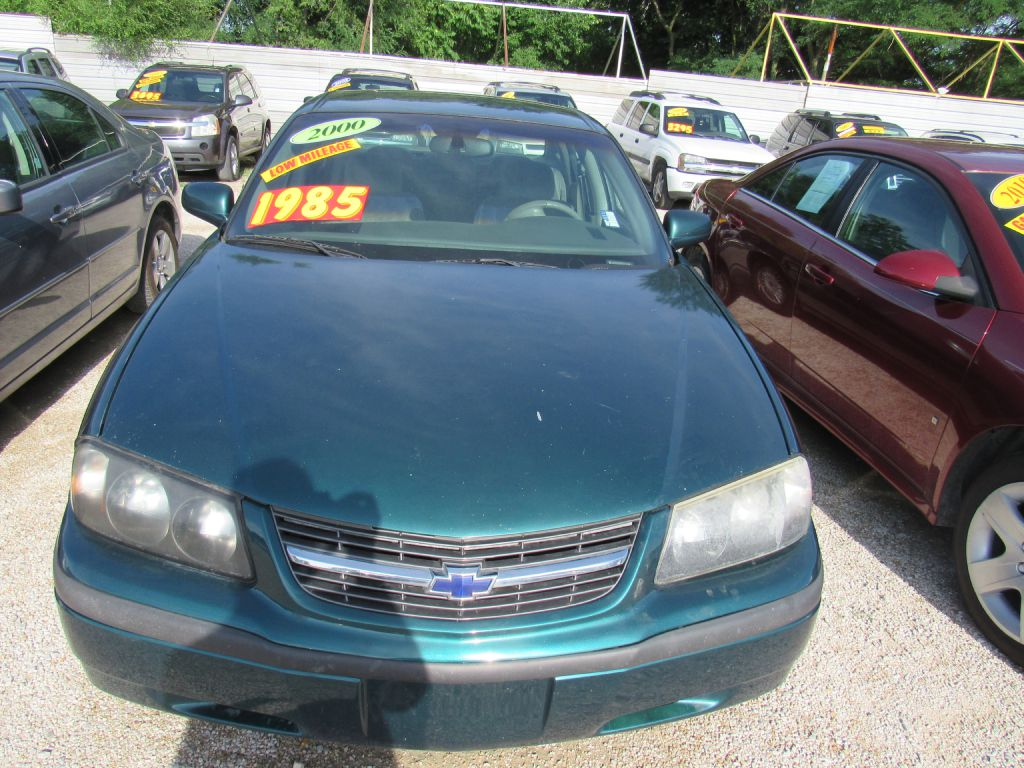 2000 Chevrolet Impala  for sale VIN: 2G1WF55K5Y9182370