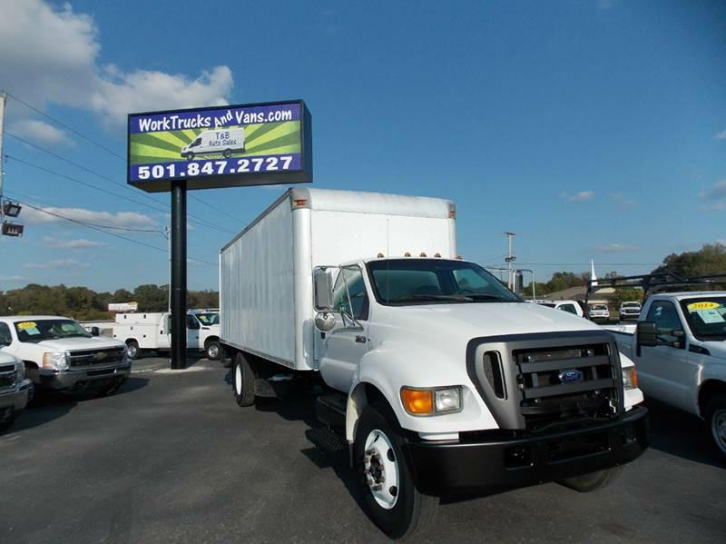 BOX TRUCK-FORD-F750 SUPERDUTY