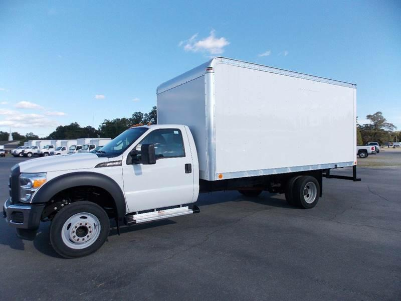 BOX TRUCK-FORD-F550 SUPERDUTY