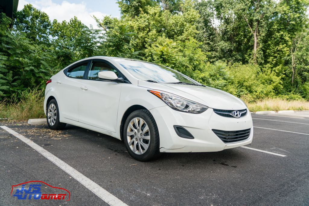 2012 HYUNDAI ELANTRA GLS for sale at JJ's Auto Outlet