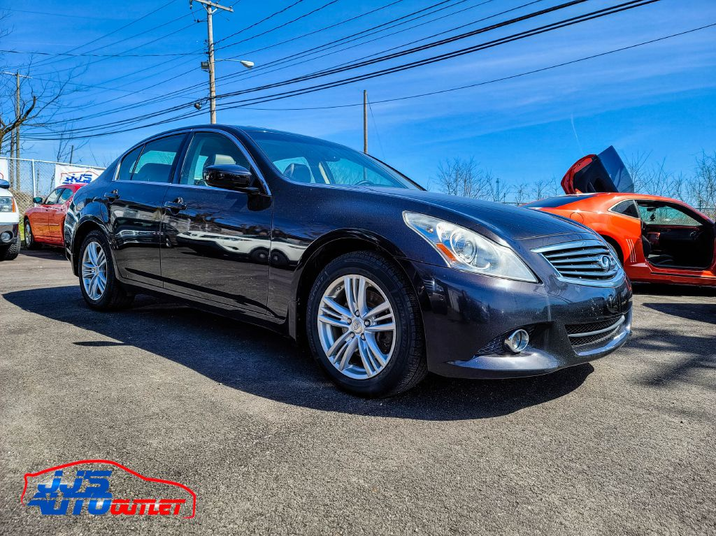2013 INFINITI G37 X for sale at JJ's Auto Outlet