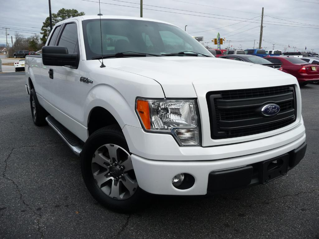 2013 FORD F150 SUPER CAB Air Conditioning Power Windows Power Locks Power Steering Tilt Wheel