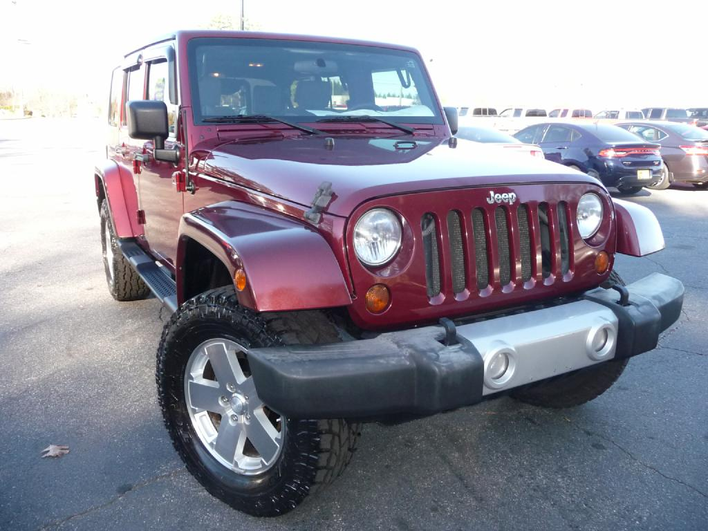 2010 JEEP WRANGLER UNLIMI SAHARA Air Conditioning Power Windows Power Locks Power Steering Til