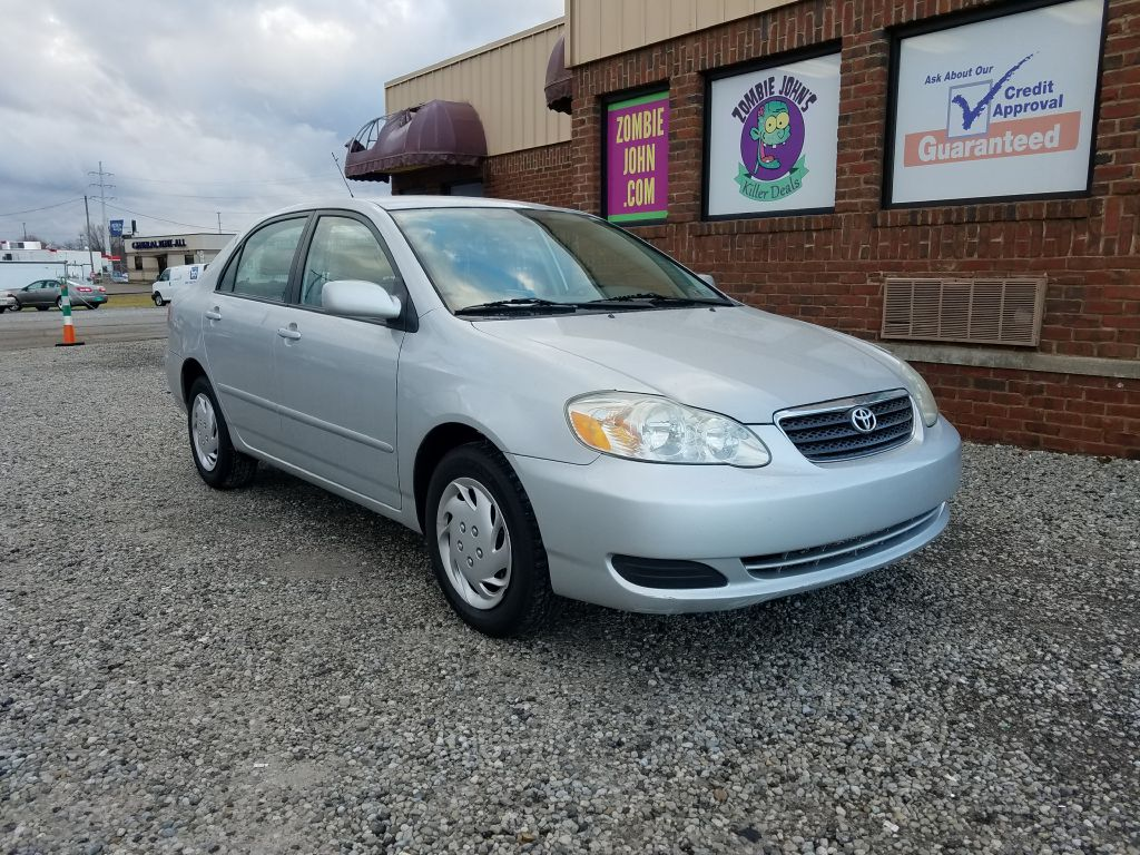 2007 TOYOTA COROLLA CE for sale at