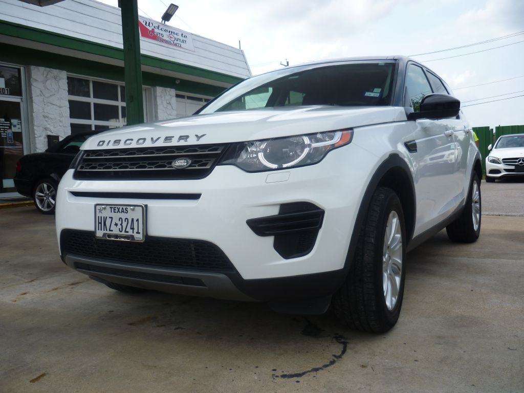 2016 LAND ROVER DISCOVERY SPORT SALCP2BG2GH594867 AUTO OUTLET INC