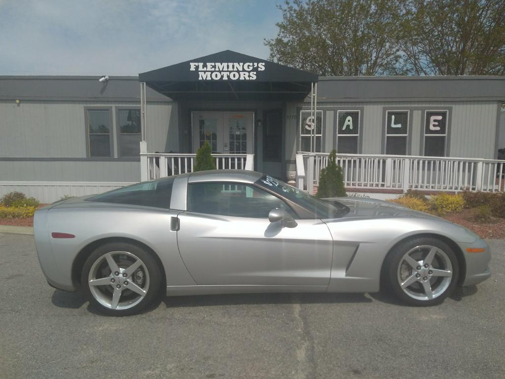 2005 CHEVROLET CORVETTE 1G1YY24U455106250 FLEMING'S MOTORS, LLC