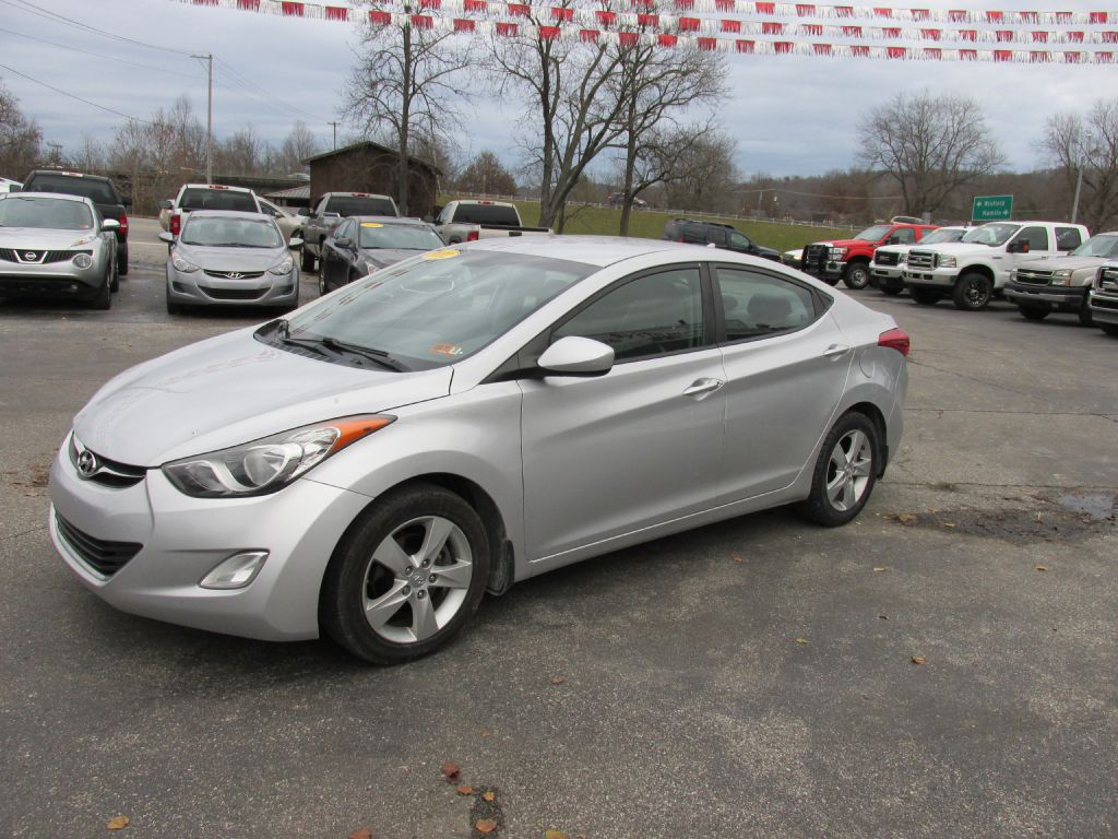 2012 HYUNDAI ELANTRA KMHDH4AE7CU452516 J TURNER AUTOMOTIVE PREOWNED