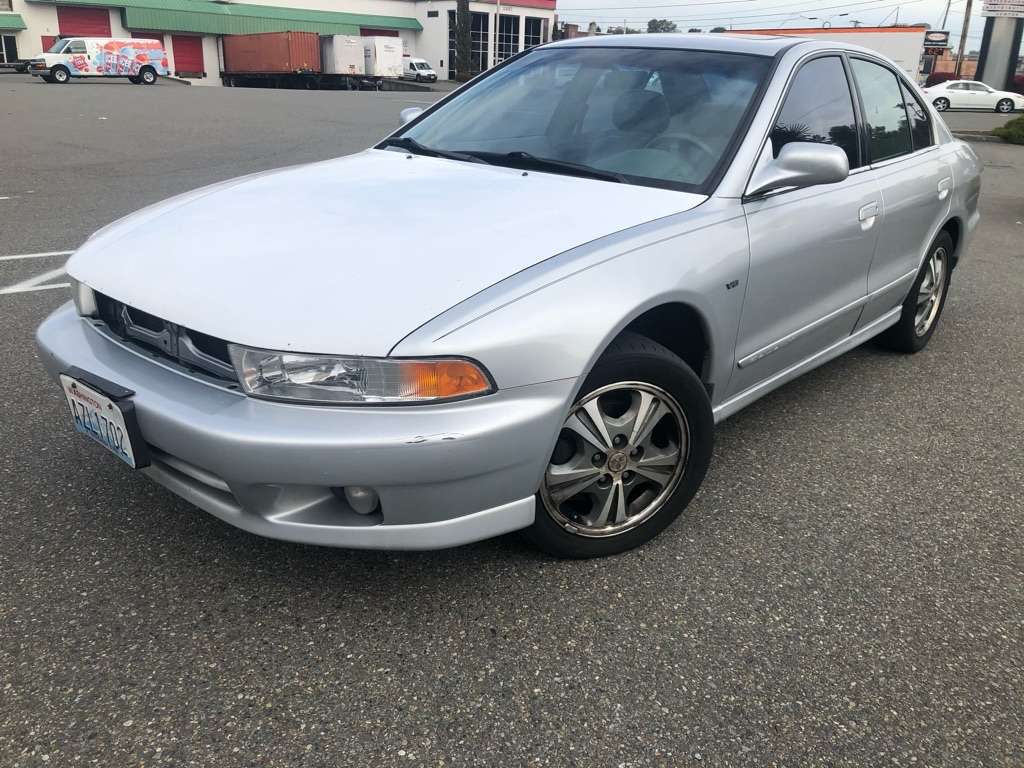 2001 Mitsubishi Galant In Tacoma Wa At Apex Motors Inc Sliver