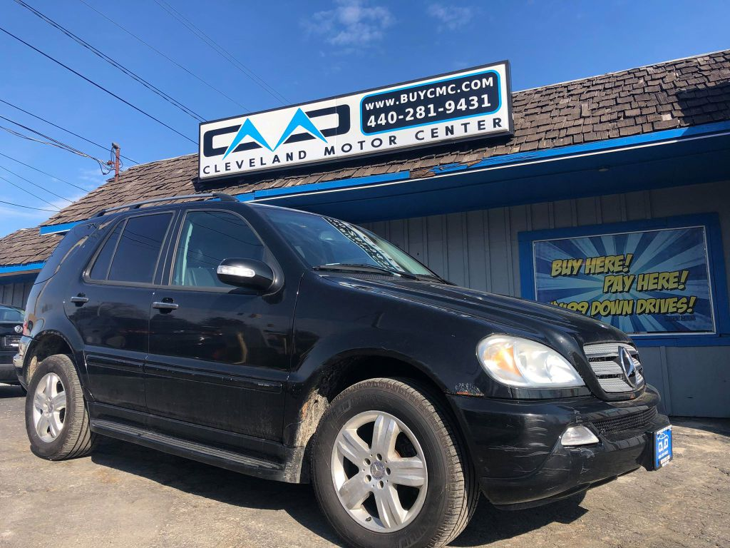 2005 MERCEDES-BENZ ML 350 for sale at Cleveland Motor ...