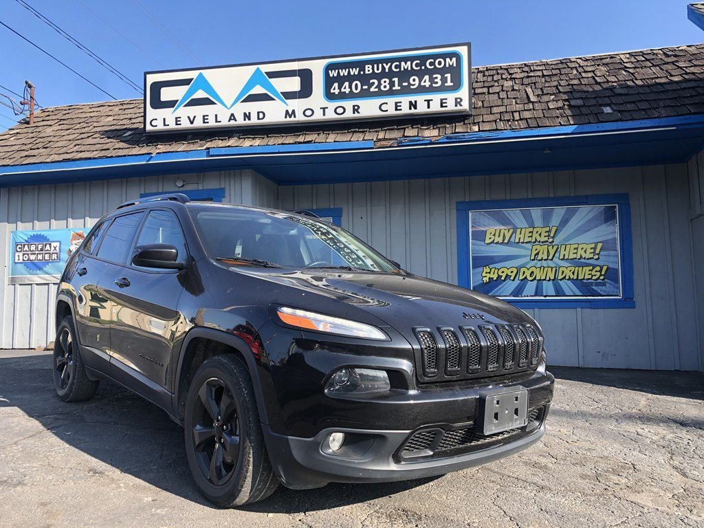 2015 Jeep Cherokee Latitude For Sale At Cleveland Motor Center Cleveland Ohio