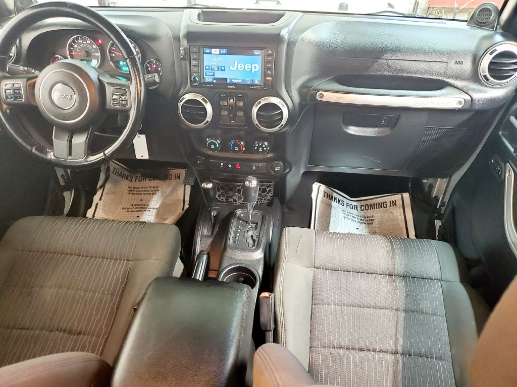 2011 JEEP WRANGLER UNLIMI SAHARA for sale at Fast Track Auto Mall