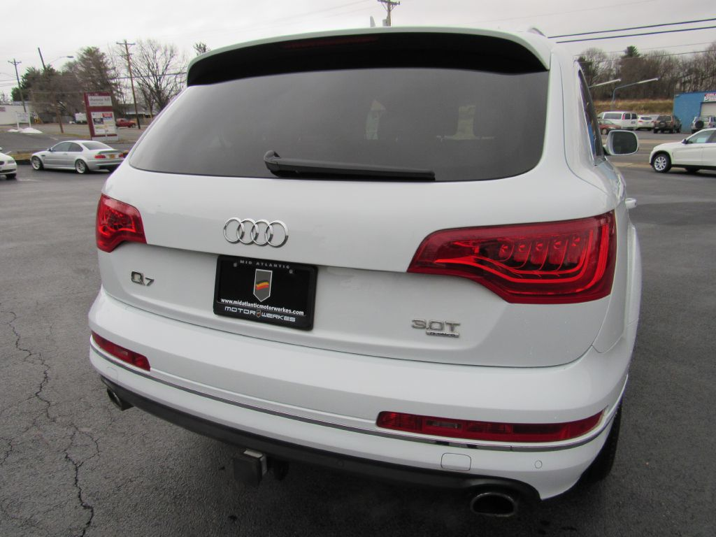 2014 Audi Q7 PREMIUM PLUS NAV, Blind Spot, Camera, BOSE